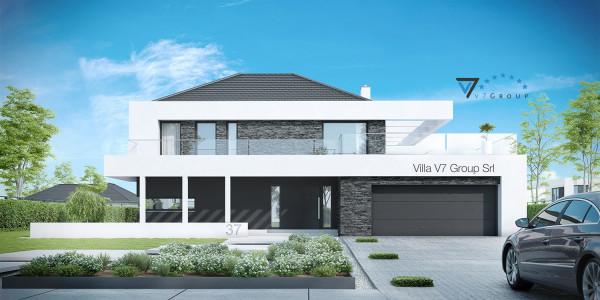 Ville moderne di v7 group migliori case in stile moderno for Case contemporanee
