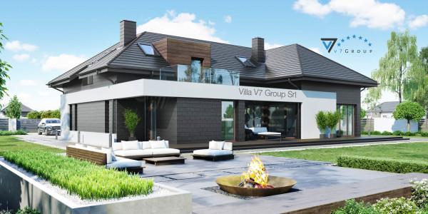 Ville moderne di v7 group migliori case in stile moderno for Piccole ville moderne
