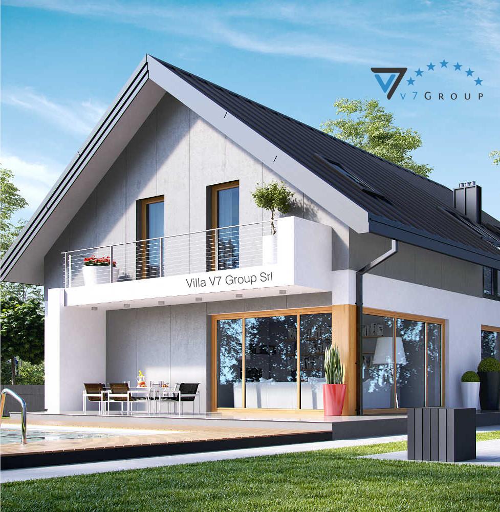 VM Immagine Villa V11 - la vista del terrazzo esterno della villa