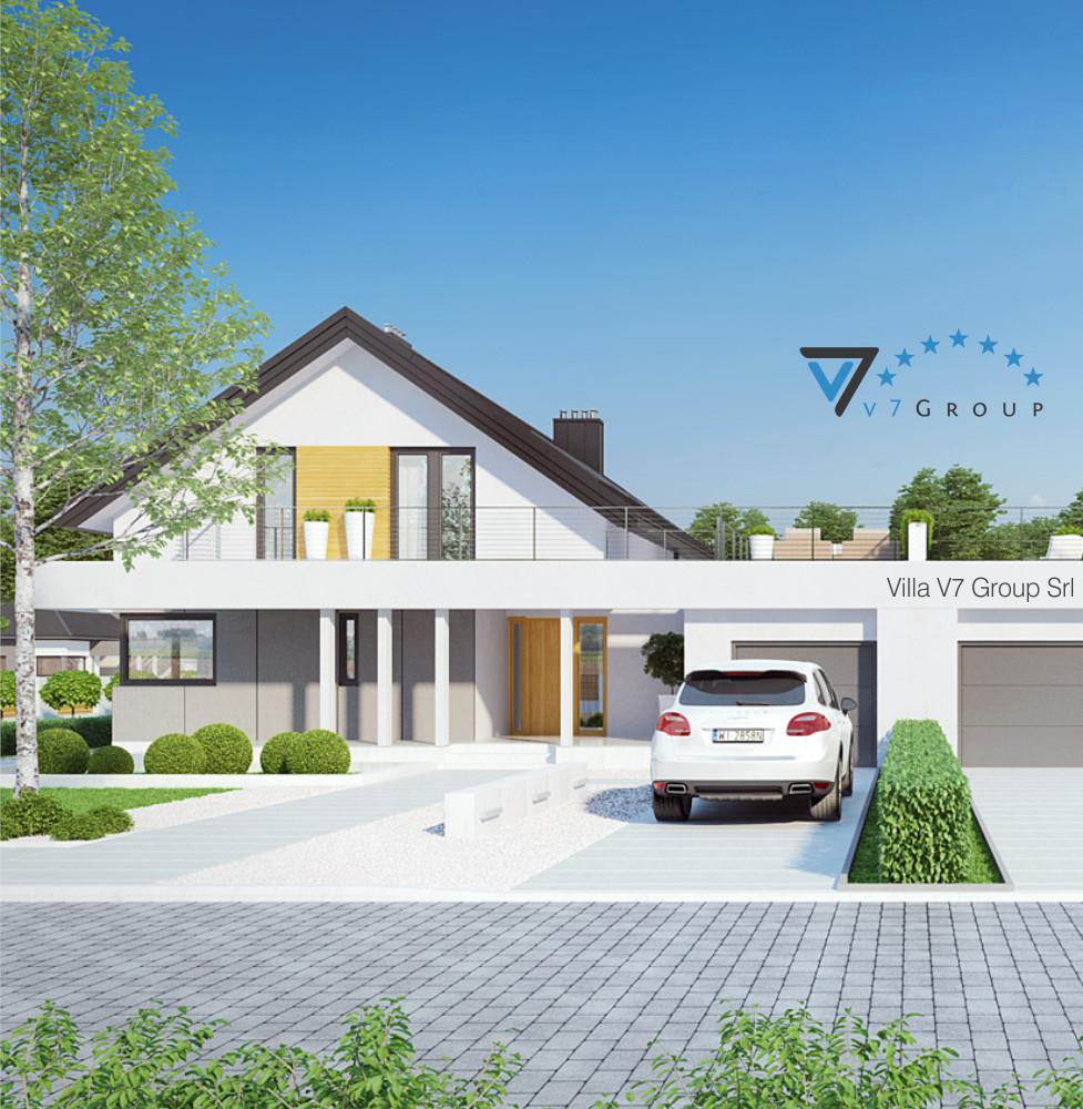 VM Immagine Villa V2 (B) - la parte frontale della villa