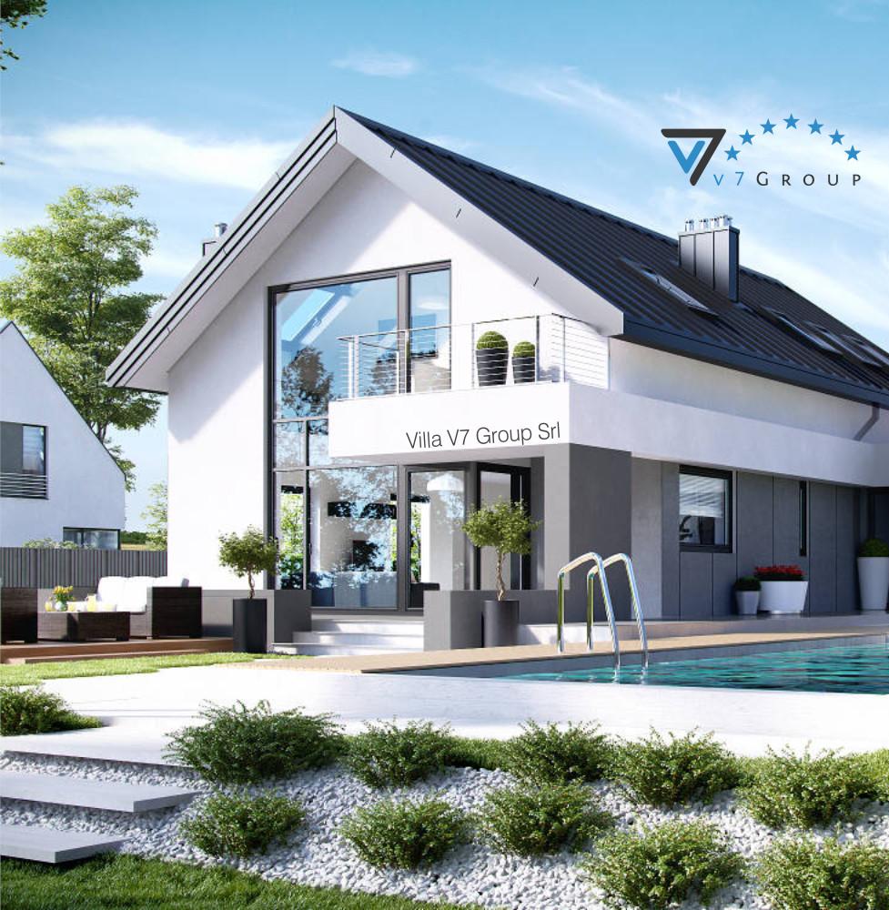 VM Immagine Villa V2 (G2) - la vista piscina della villa