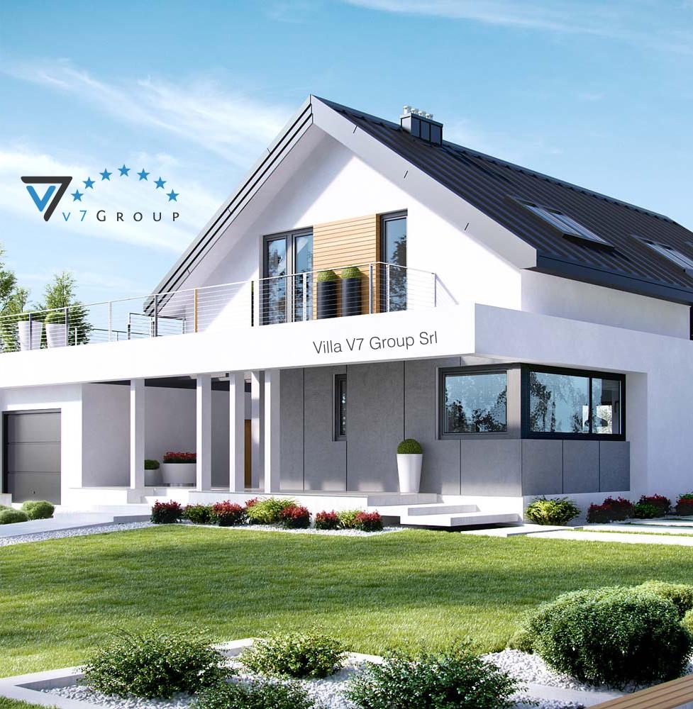 Villa v2 progetto originale la casa in stile moderno for Progetto casa piccola