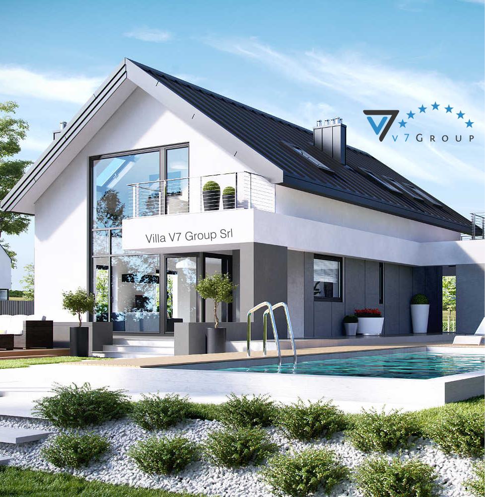 Case A Due Piani villa v2 (progetto originale) - la casa in stile moderno di