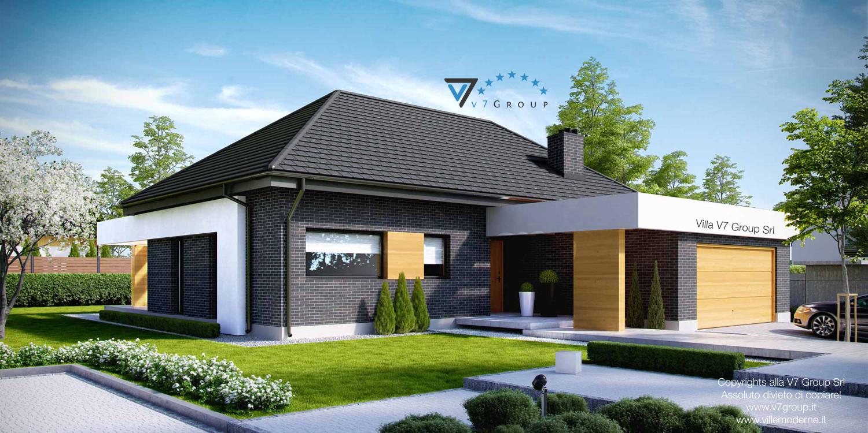 VM Immagine Villa V27 - vista frontale grande