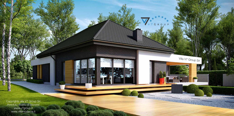 VM Immagine Villa V27 - vista giardino grande