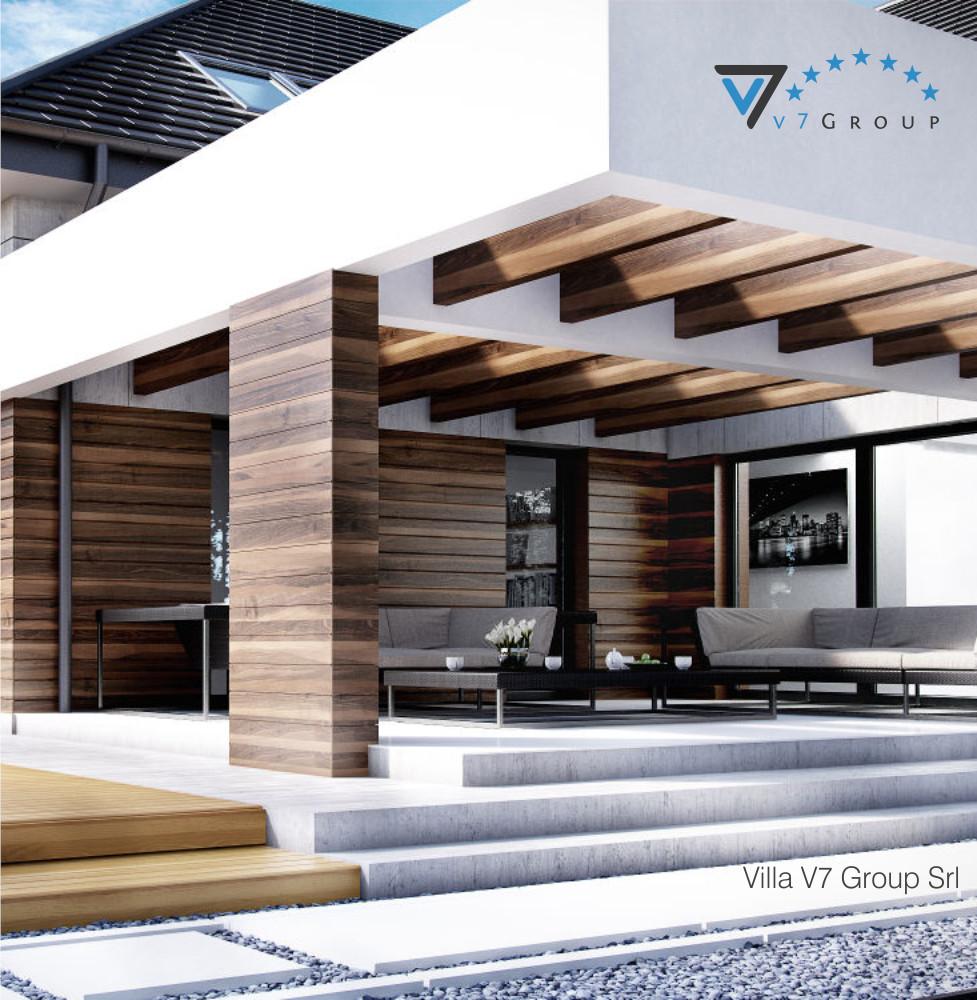 VM Immagine Villa V28 - la parte del terrazzo esterno piccola