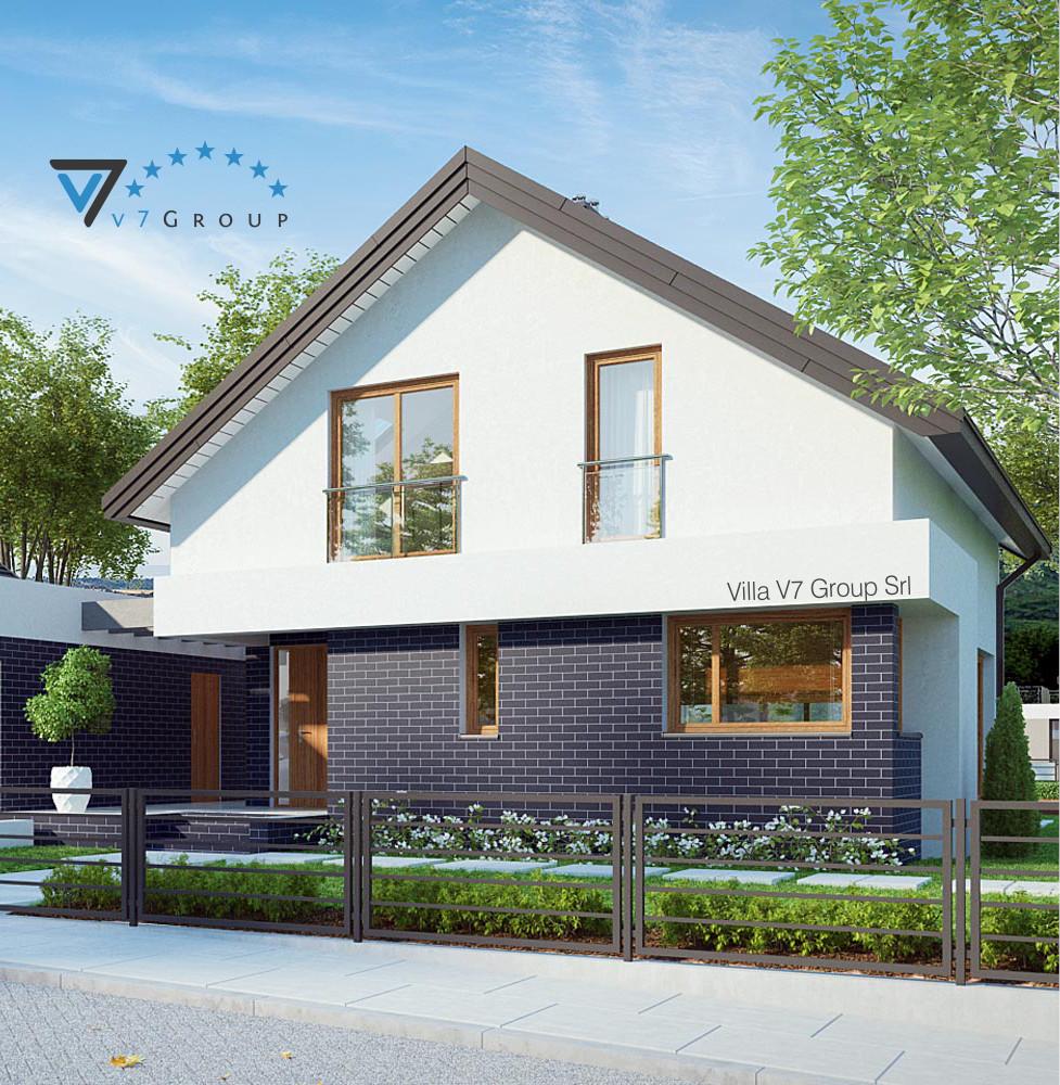 VM Immagine Villa V3 (B) - la parte frontale della villa