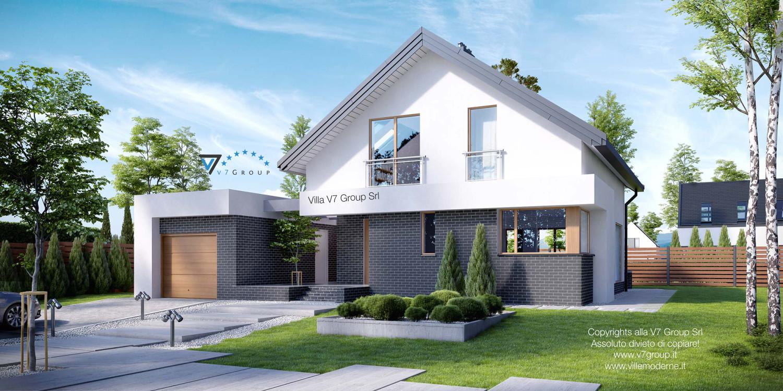 VM Immagine Villa V3 - parte frontale grande