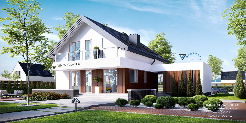 VM Immagine Villa V3 - parte giardino grande