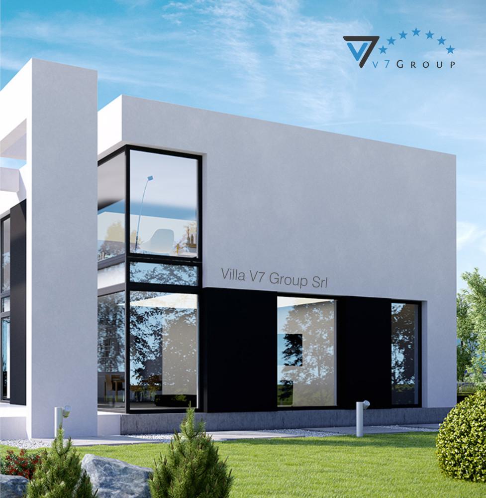 VM Immagine Villa V30 - la vista giardino piccola