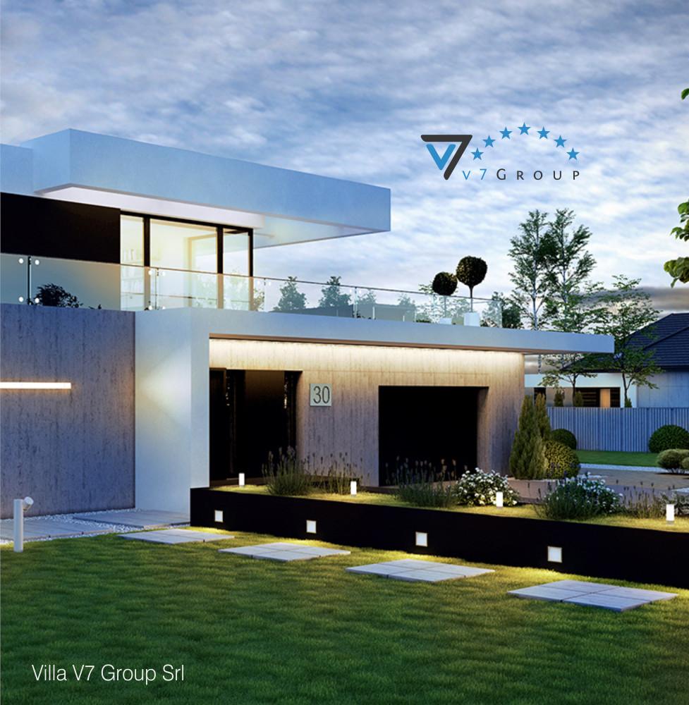 VM Immagine Villa V30 - la vista laterale della villa