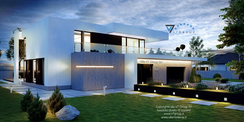 VM Immagine Villa V30 - vista frontale grande