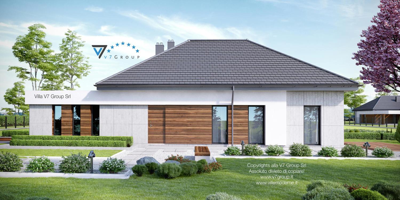 VM Immagine Villa V31 - vista laterale grande