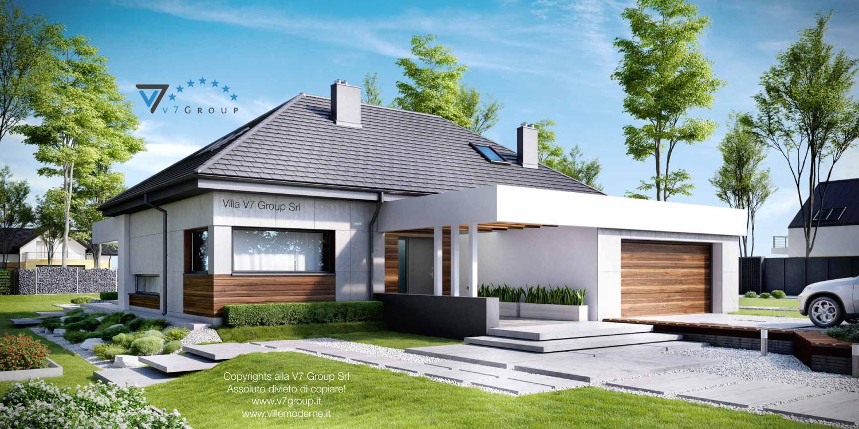 VM Immagine Villa V33 - vista frontale grande