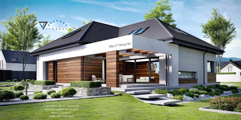 VM Immagine Villa V33 - vista terrazzo esterno grande