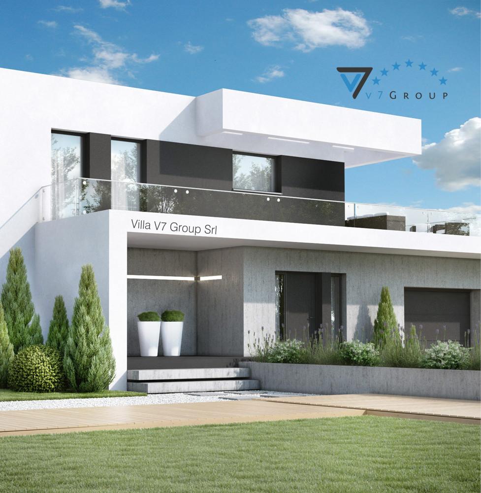 VM Immagine Villa V34 - la parte frontale della villa
