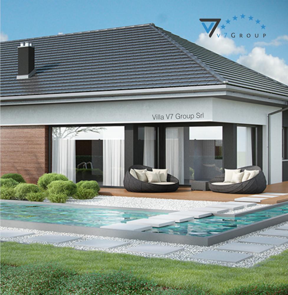 VM Immagine Villa V36 - la parte della piscina piccola