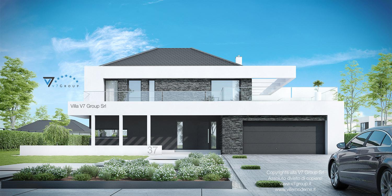 VM Immagine Villa V37 - vista frontale grande
