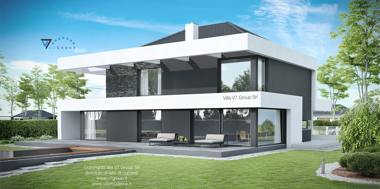 VM Immagine Villa V37 - vista giardino grande