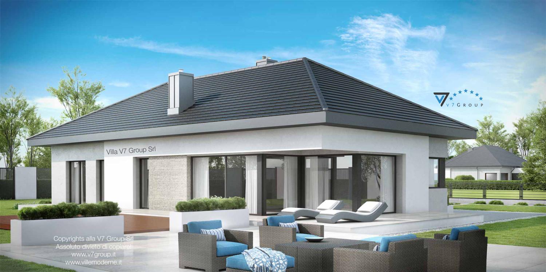 VM Immagine Villa V38 - vista terrazzo esterno grande