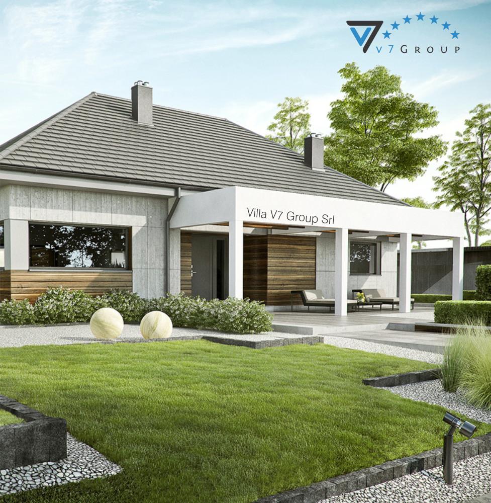 VM Immagine Villa V39 - la parte laterale della villa