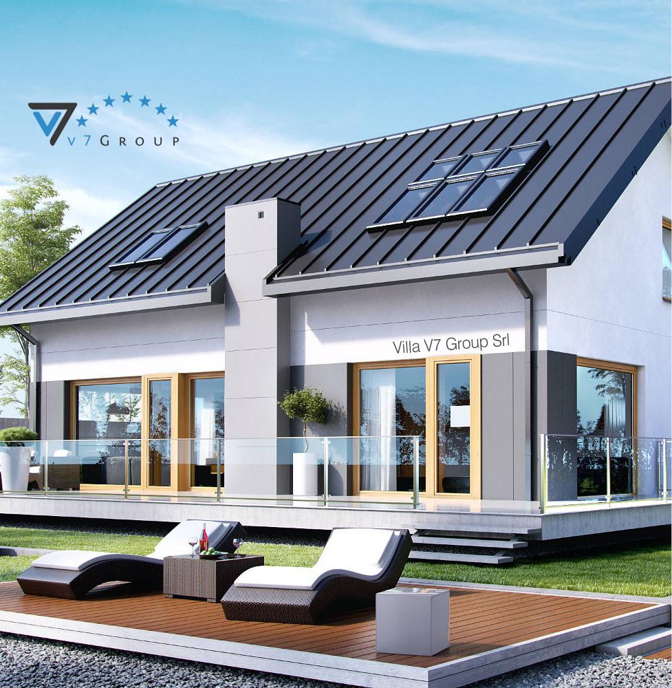 VM Immagine Villa V4 - la parte del giardino della villa