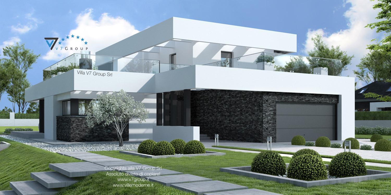 VM Immagine Villa V41 - vista frontale grande