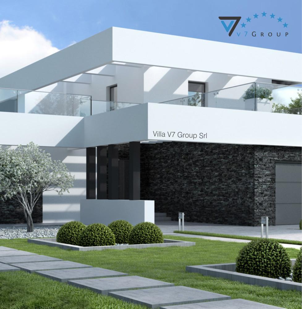 VM Immagine Villa V41 - la parte laterale della villa