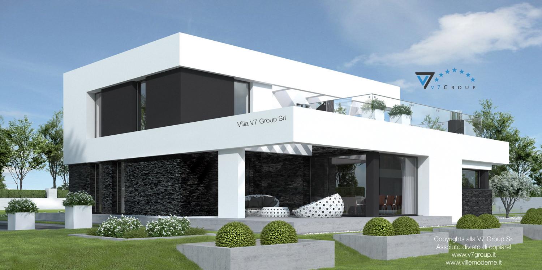 VM Immagine Villa V41 - vista terrazzo esterno grande