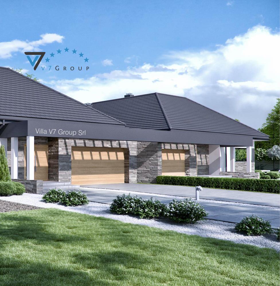 VM Immagine Villa V42 (B) - la parte laterale della villa