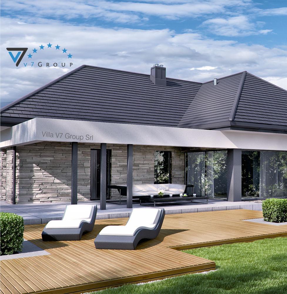 VM Immagine Villa V42 - vista giardino piccola