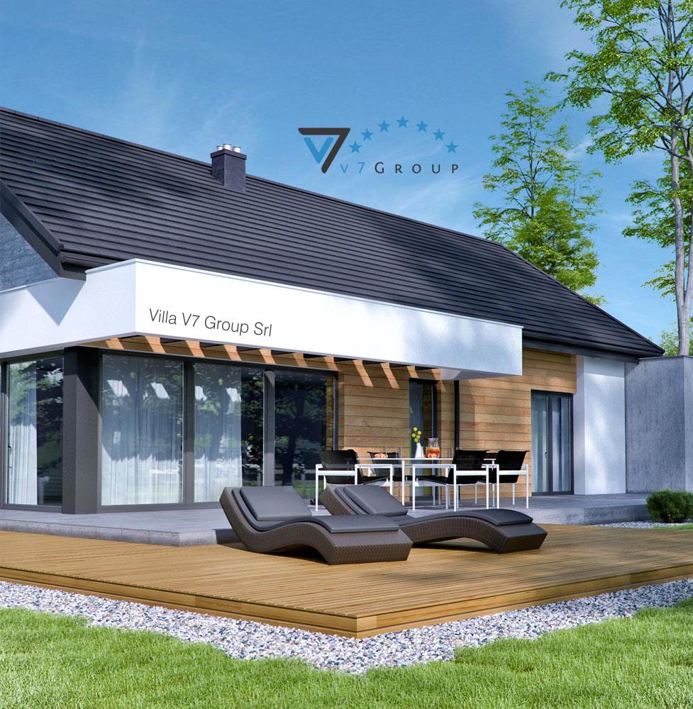 VM Immagine Villa V45 (G2) - la vista del terrazzo esterno della villa