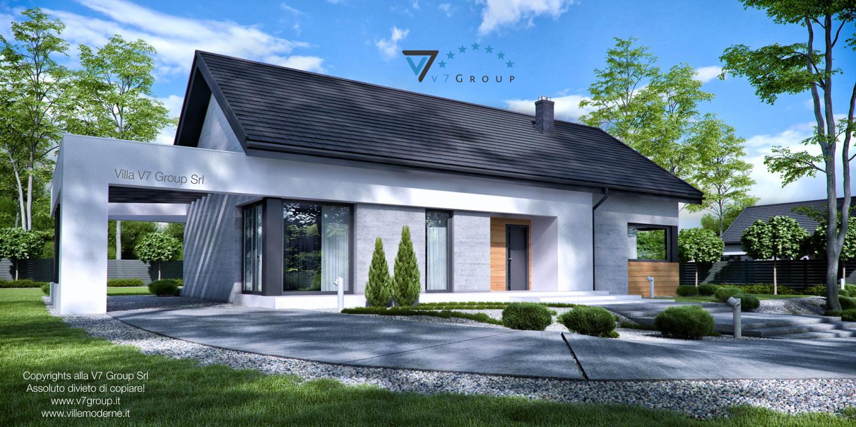 VM Immagine Villa V45 - vista frontale grande