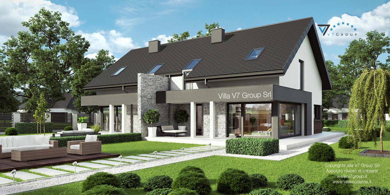 VM Immagine Villa V47 (B) - vista giardino grande