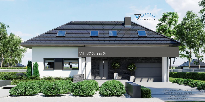 VM Immagine Villa V48 - vista frontale grande