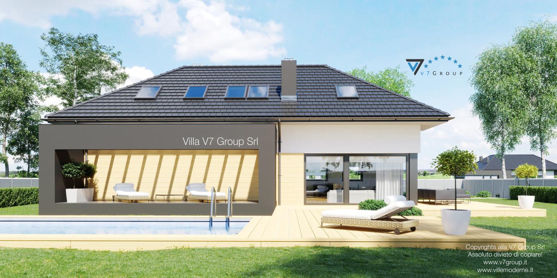 VM Immagine Villa V48 - vista piscina grande