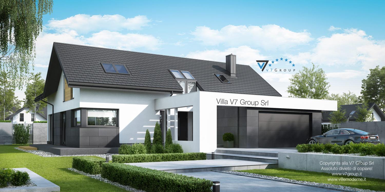 VM Immagine Villa V49 - vista frontale grande