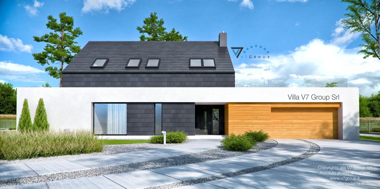 VM Immagine Villa V50 - vista frontale grande