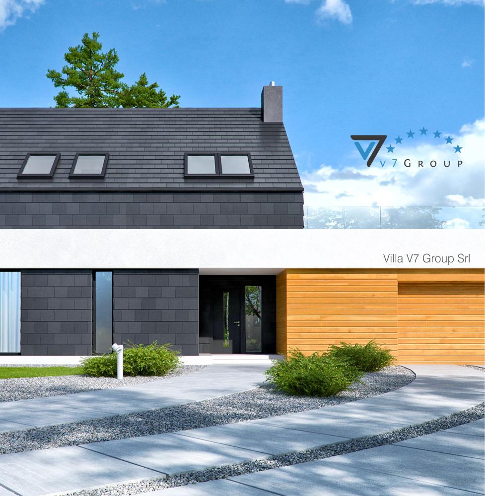 VM Immagine Villa V50 - la parte frontale della villa