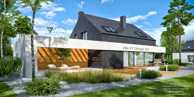 VM Immagine Villa V50 - vista terrazzo esterno grande