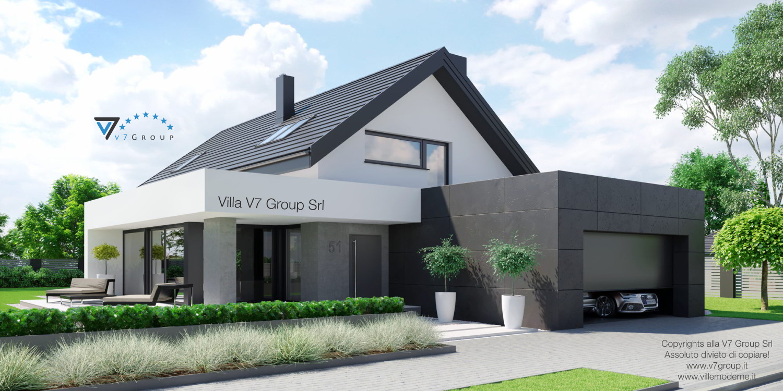 VM Immagine Villa V51 - vista frontale grande