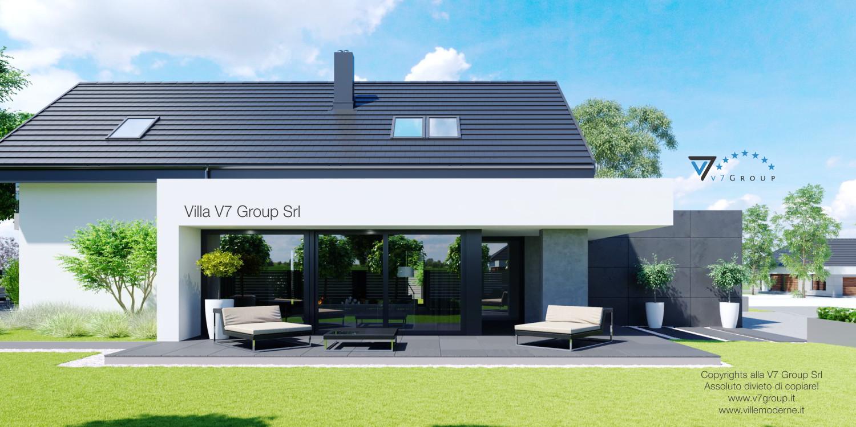 VM Immagine Villa V51 - vista terazzo esterno laterale grande