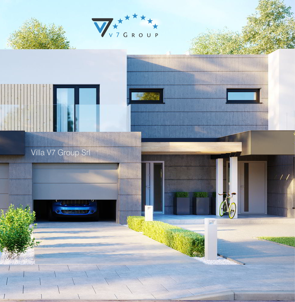 VM Immagine Villa V52 (B2) - la parte frontale della villa