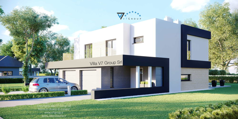 VM Immagine Villa V52 (D) - vista laterale grande