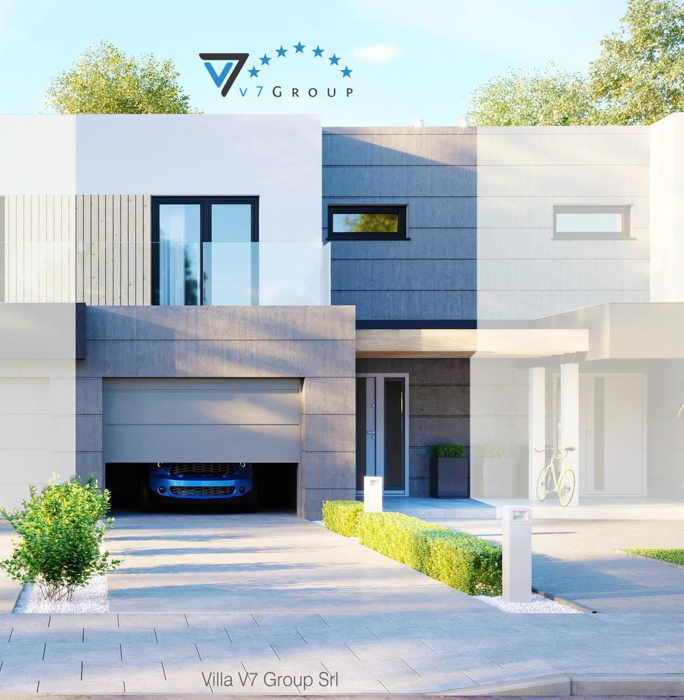 VM Immagine Villa V52 (S) - la parte frontale della villa