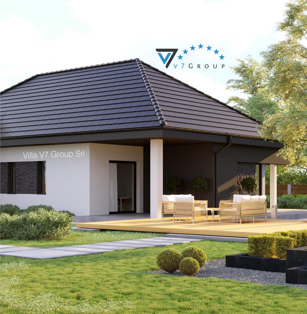 VM Immagine Villa V55 - vista giardino piccola