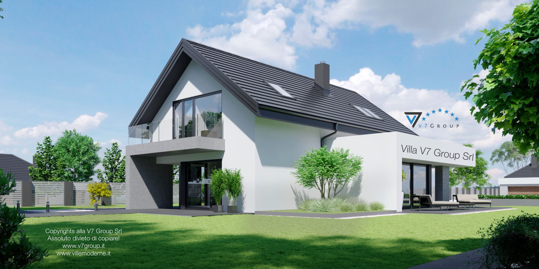 VM Immagine Villa V56 - vista giardino grande