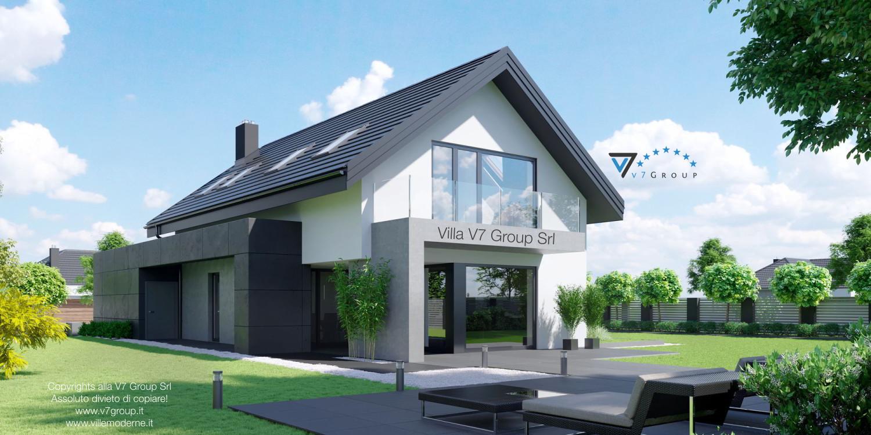 VM Immagine Villa V56 - vista terrazzo esterno grande