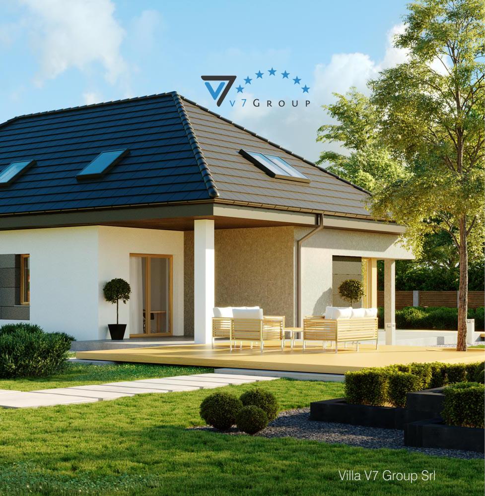 VM Immagine Villa V57 - la parte del terrazzo esterno della villa