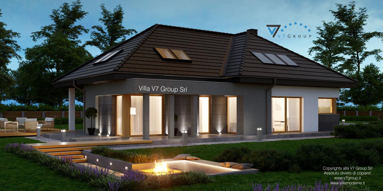 VM Immagine Villa V57 - vista terrazzo esterno grande